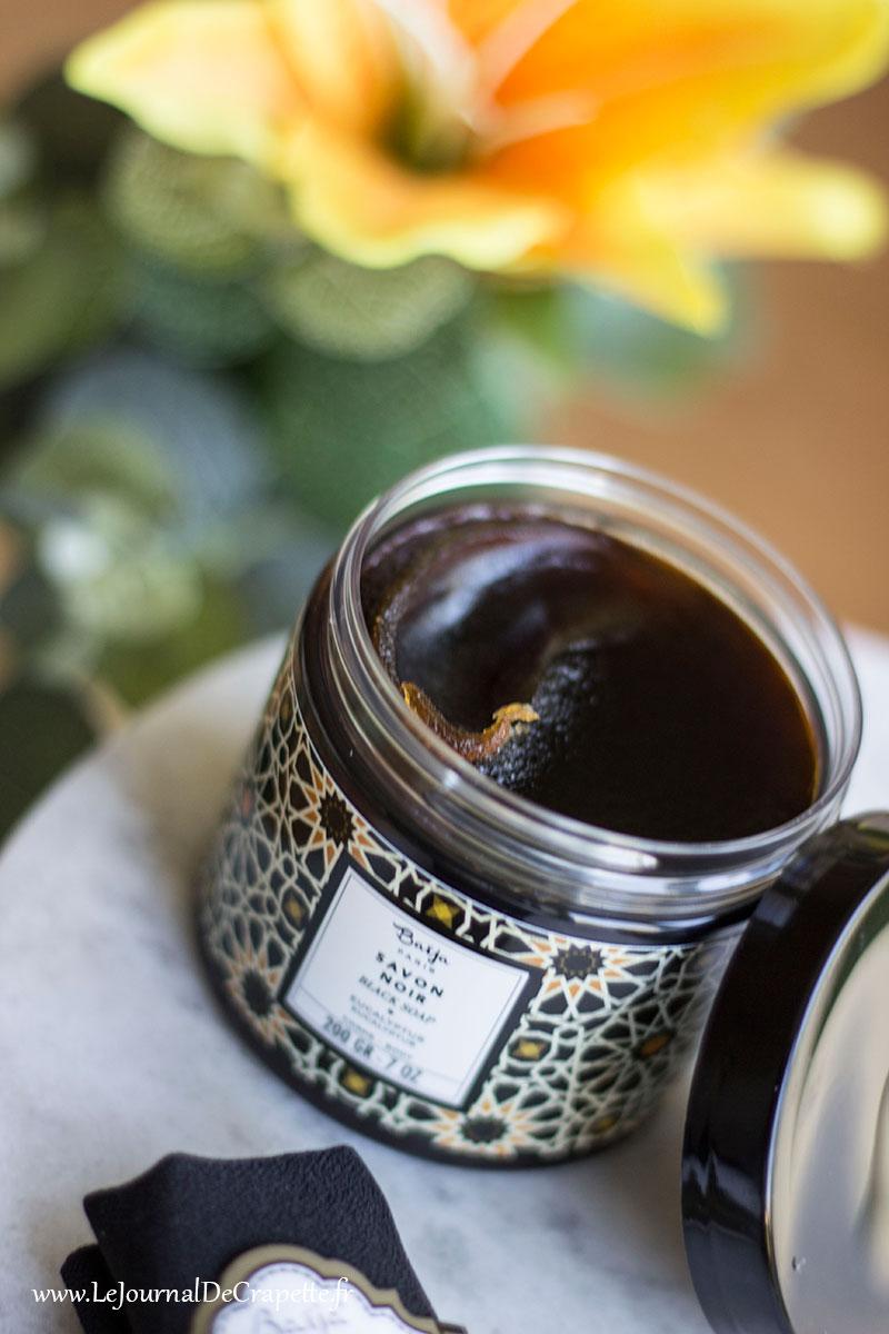 savon noir eucalyptus Baija