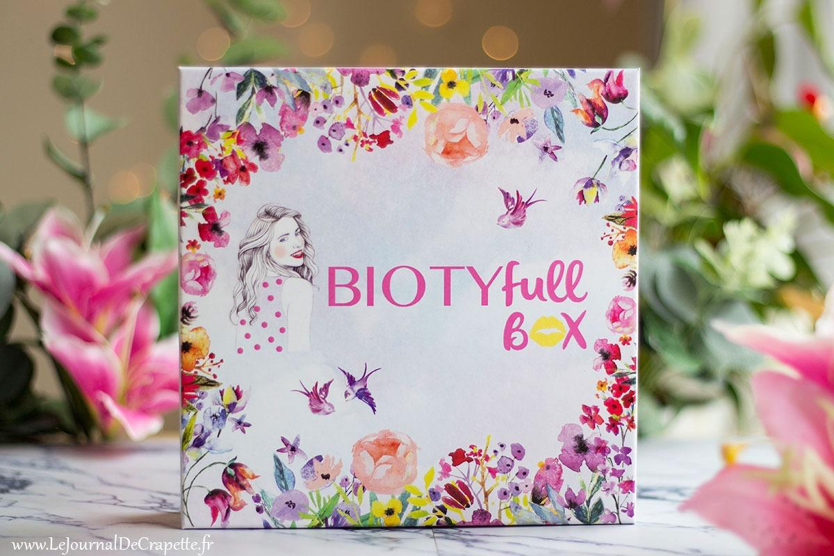 Biotyfull Box mars 2019 contenu