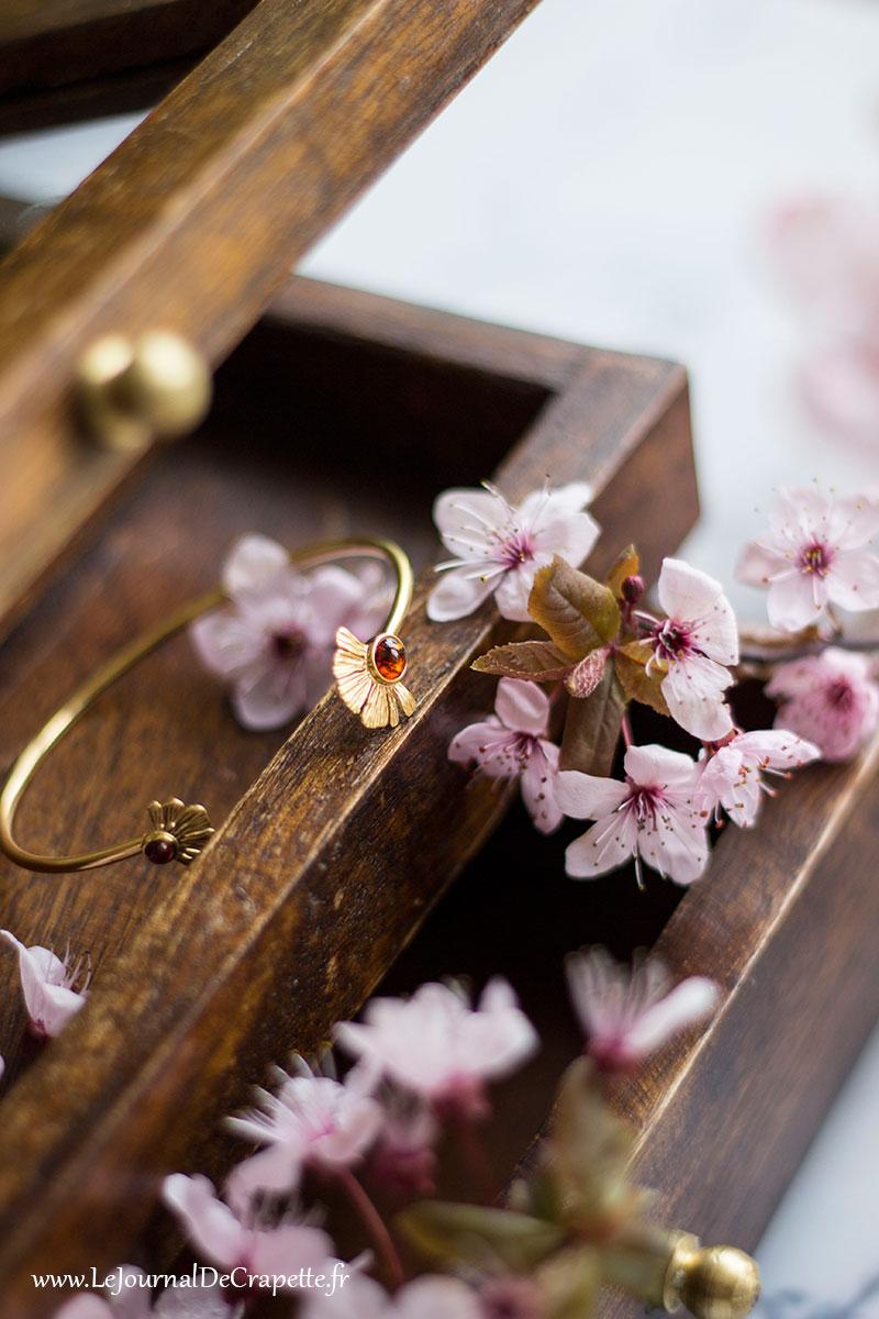 boite a bijoux bois Nature et découvertes