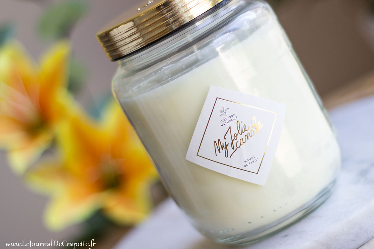 bougie grand format My Jolie Candle