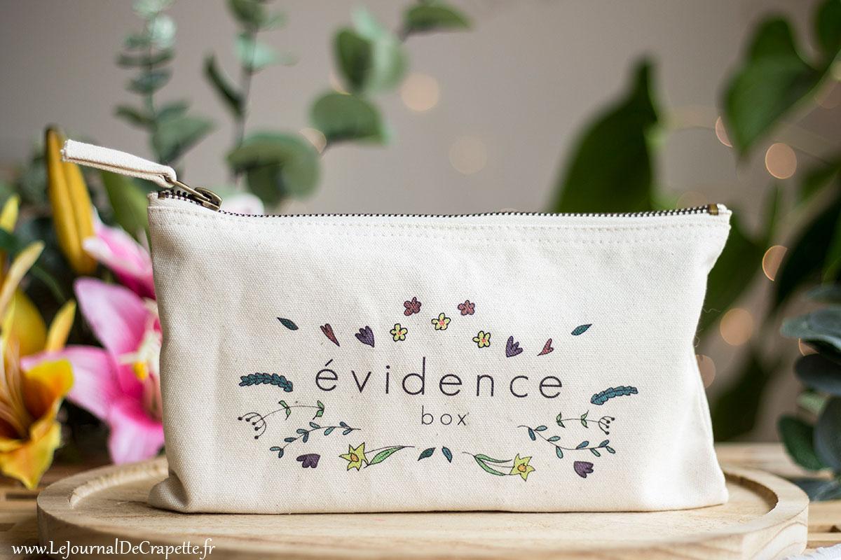 Box Evidence Mars 2019 avis contenu