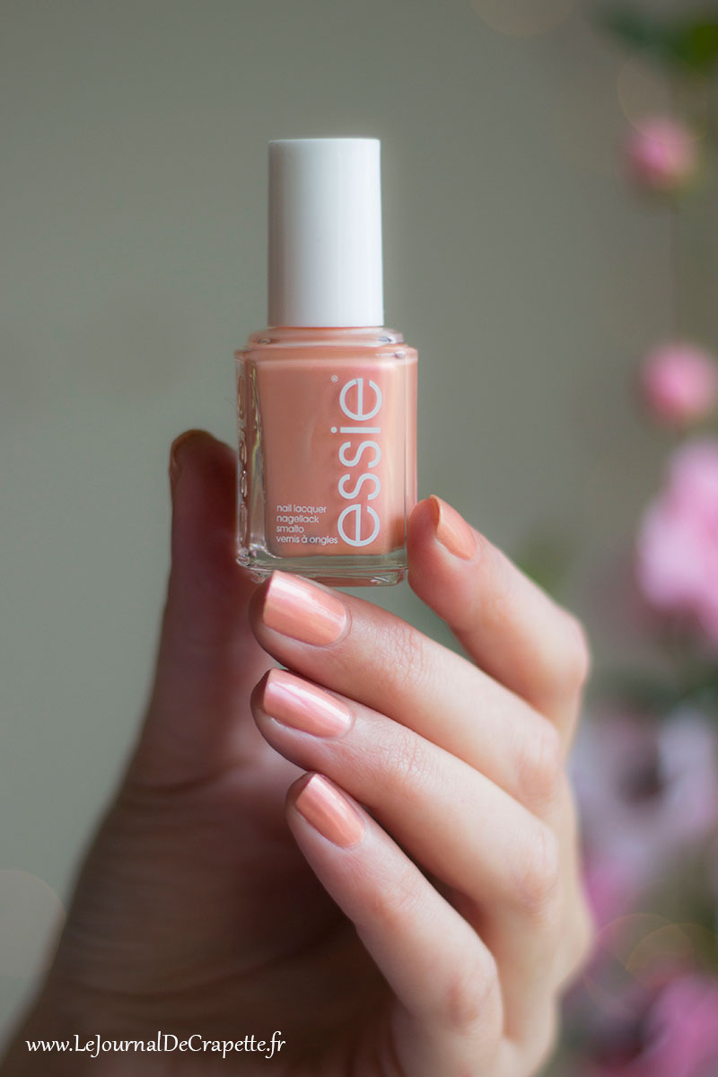 vernis Essie Pinkies out swatch