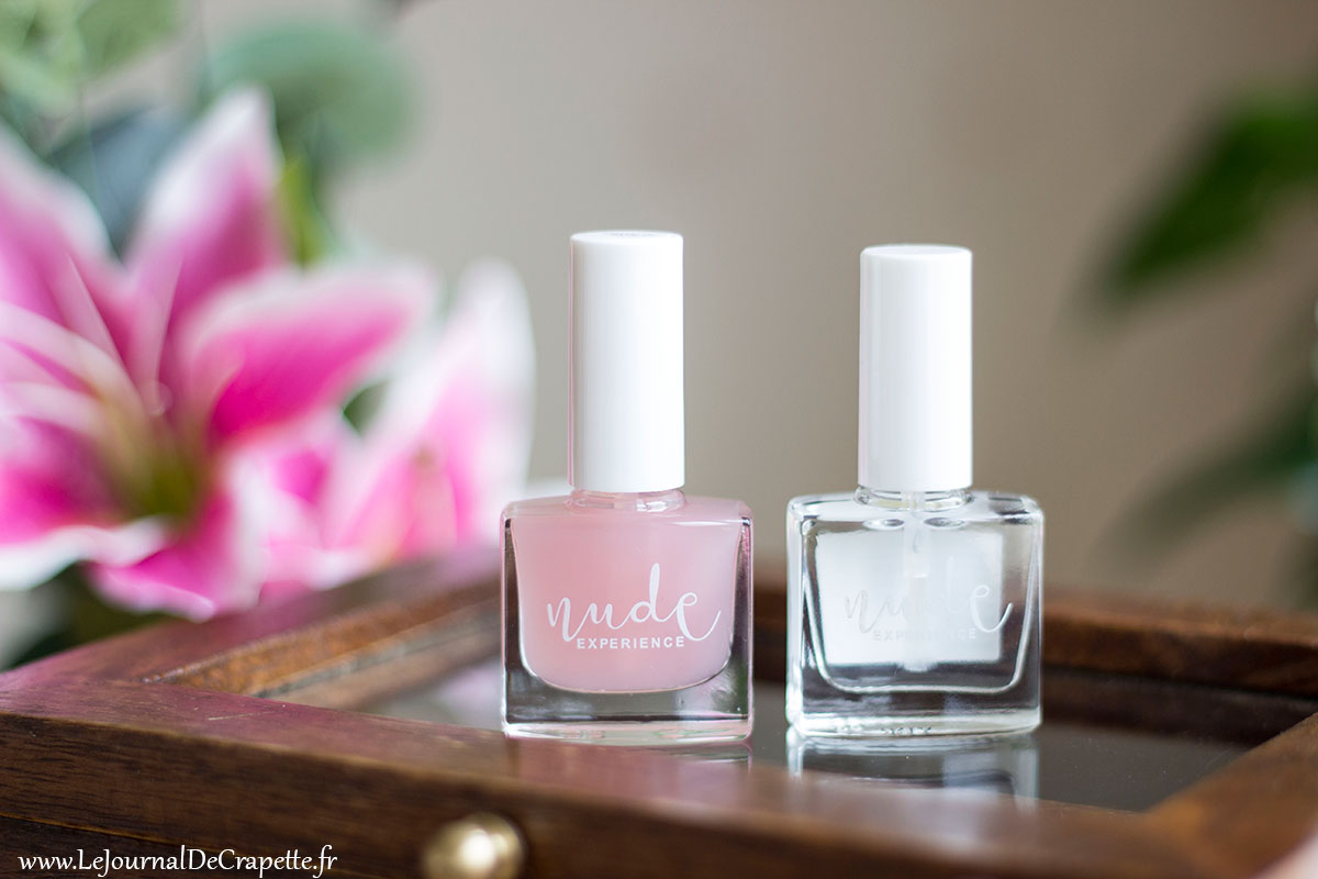 top coat base coat Nude Experience