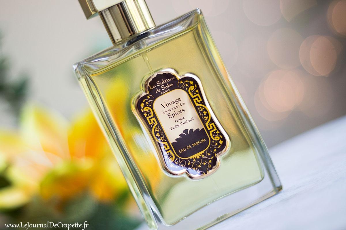 eau parfum vanille Sultane de Saba