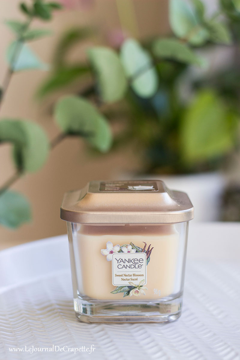 bougie nectar sucré blossom Yankee Candle collection Elevation