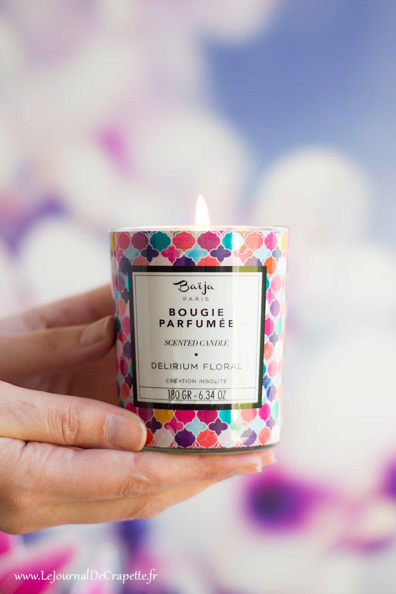 bougie Baija Delirium floral