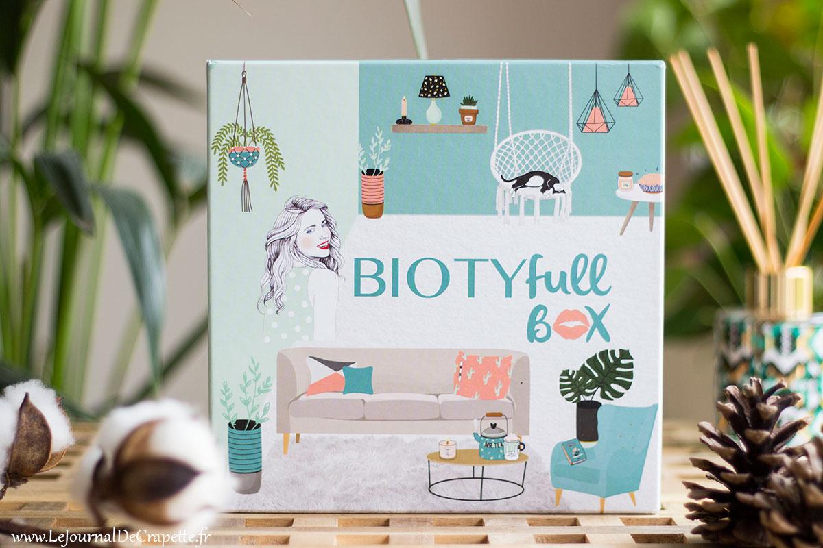 biotyfull box mai 2019 contenu