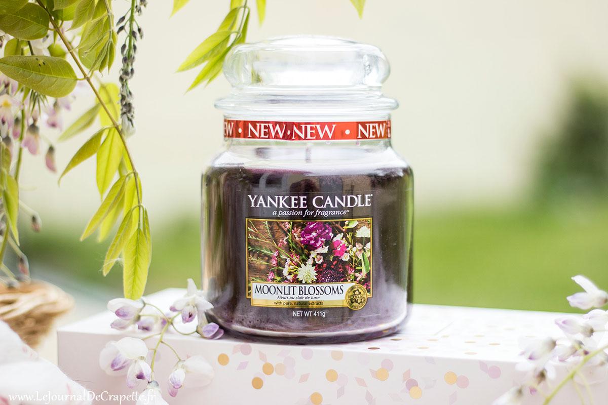 fleurs au clair de lune Yankee Candle