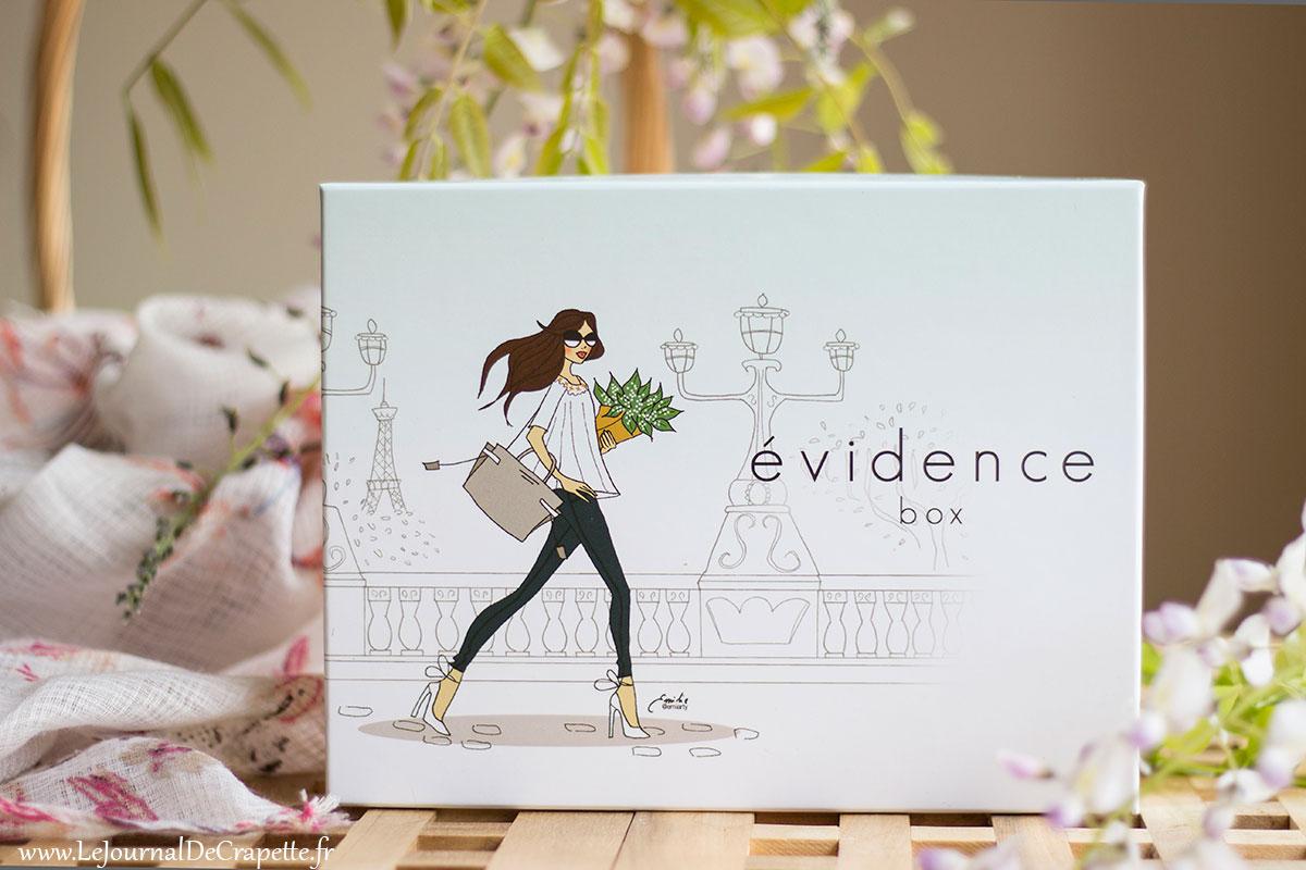 box evidence de mai 2019 contenu