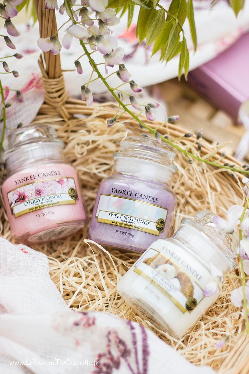 yankee candle printemps cadeau selection bougie parfumee