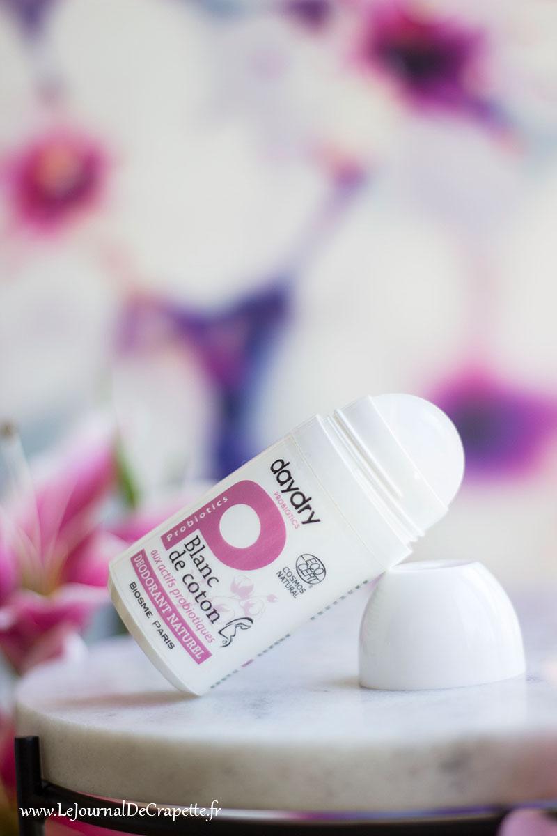 daydry blanc de coton déodorant test