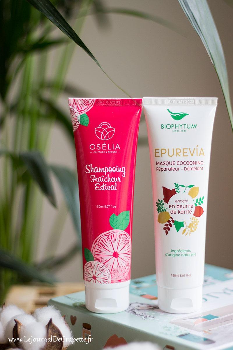 Biophytum duo shampoings et apres shampoings