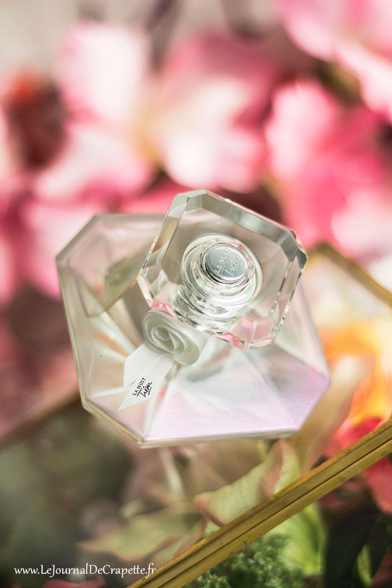 La nuit trésor musc diamant Lancome flacon avis