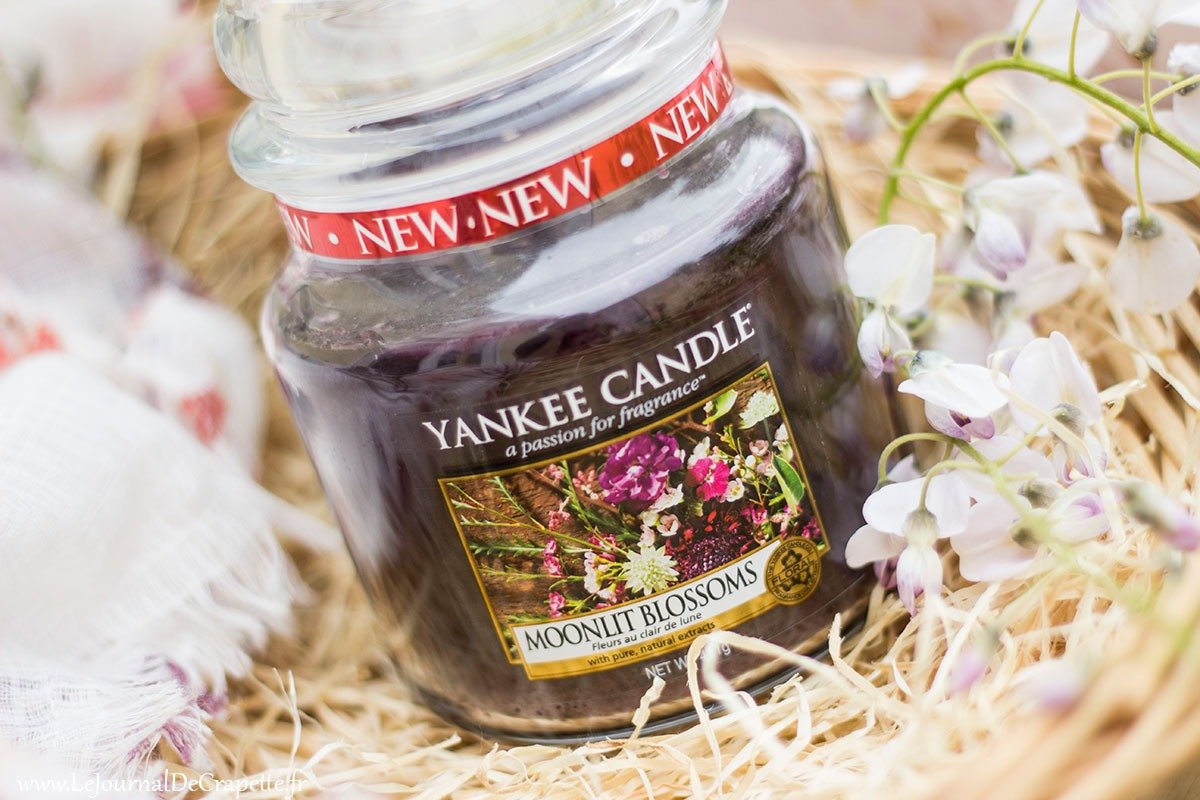 yankee candle bougie Moonlit Blossoms