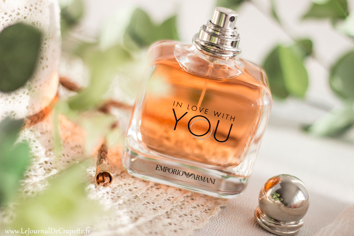 in love with you emporio Armani parfum