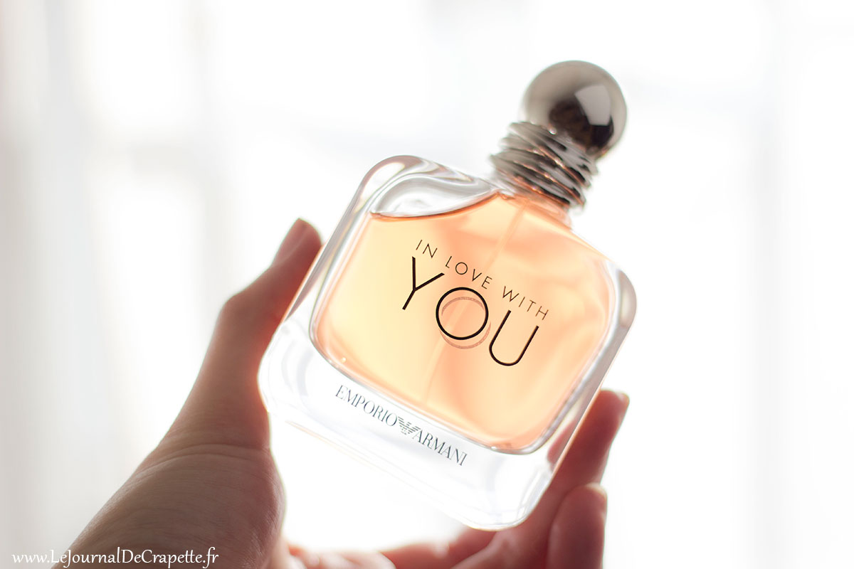 parfum féminin in love with you emporio Armani