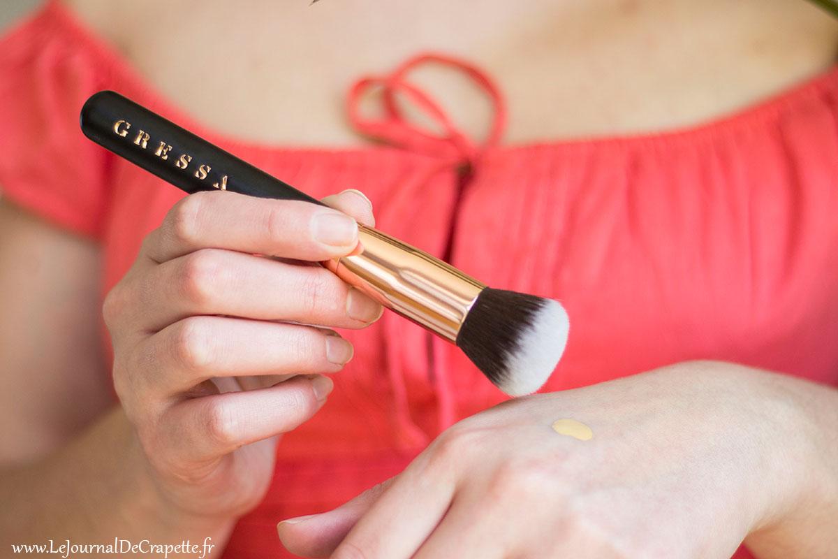 pinceau fond de teint gressa skin