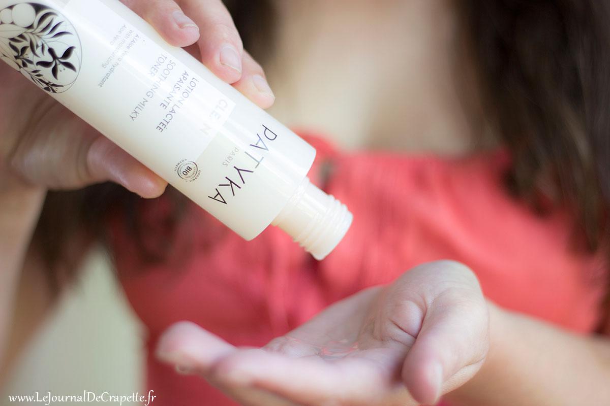 lotion lactée patyka