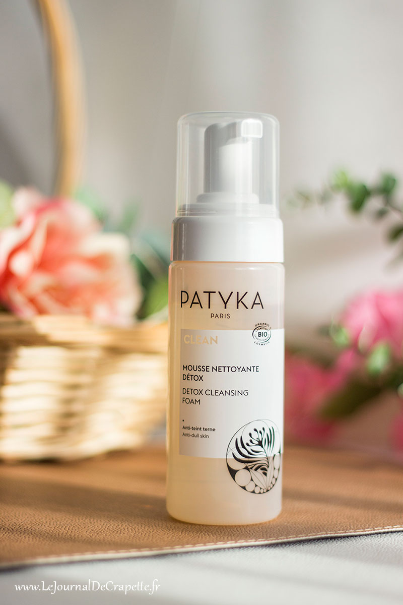 nettoyant mousse clean Patyka