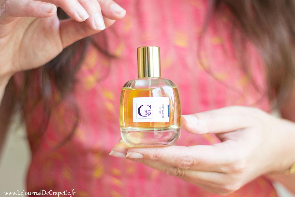 flacon corpo35 parfum de niche