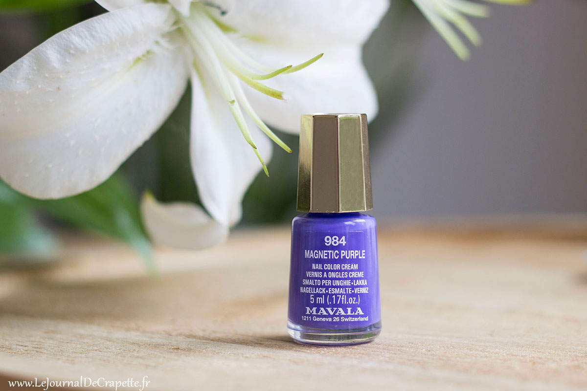 Mavala magnetic purple vernis