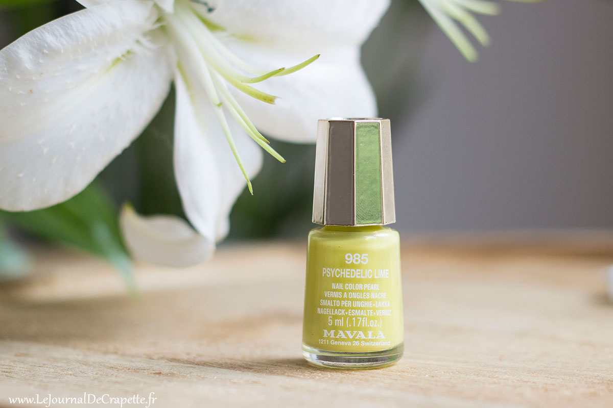 Mavala psychedelic Lime vernis