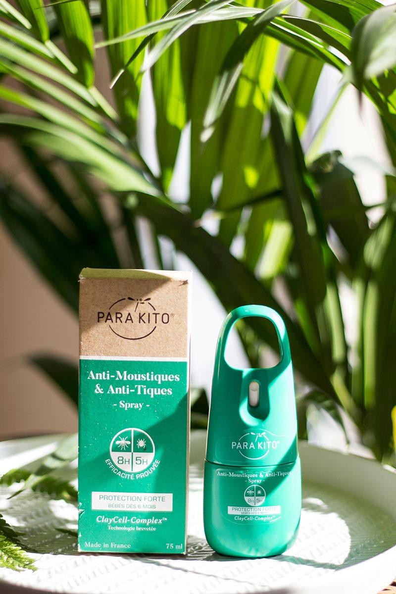 anti moustiques spray Parakito