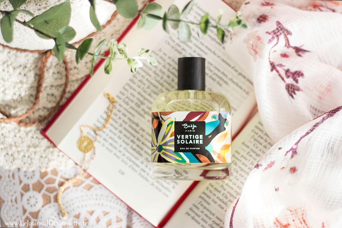 parfum avis baija tubereuse