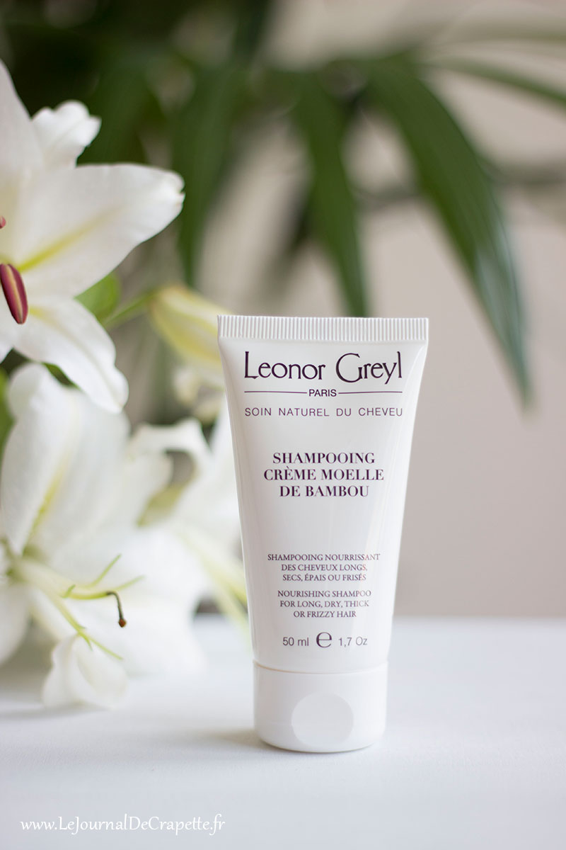 Shampoing crème moelle de bambou Leonor Greyl