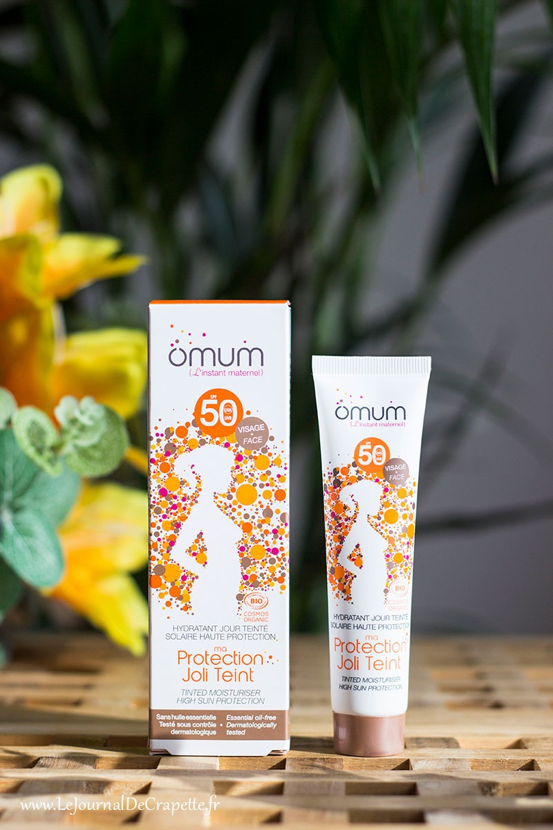 Omum protection solaire teintee spf50