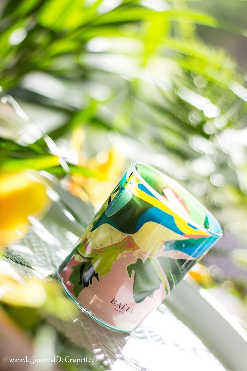 bougie parfumee sieste tropicale Baija