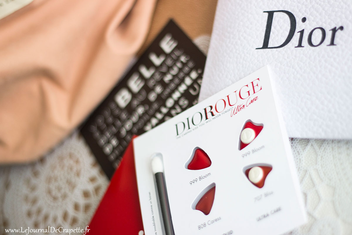 dior rouge ultra care palette