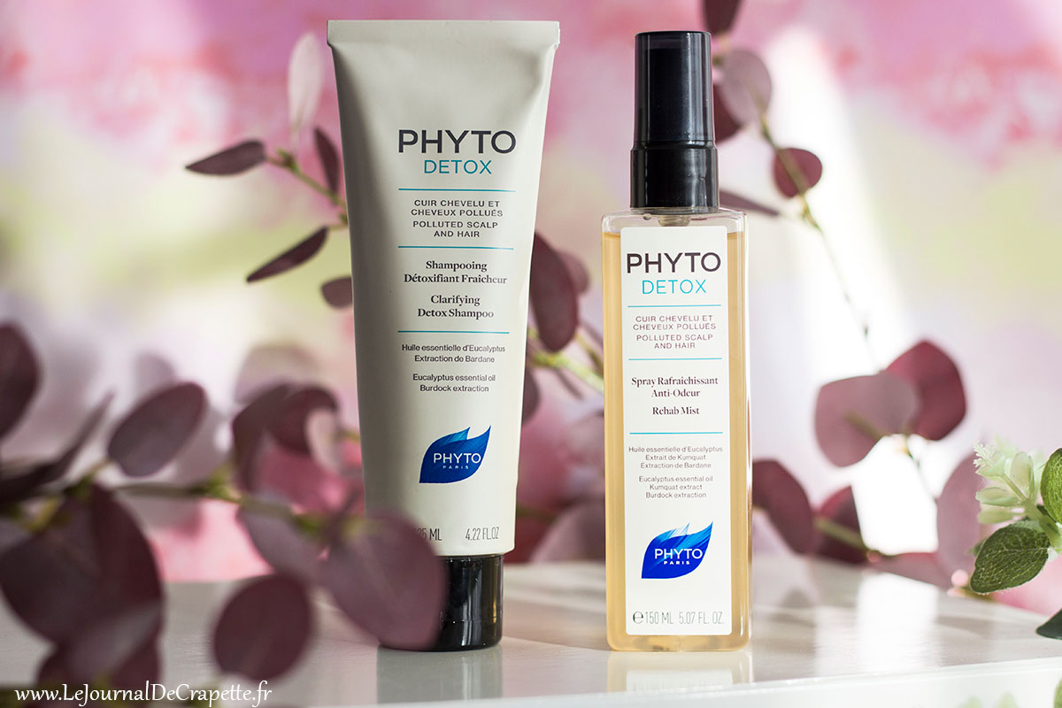 phyto detox gamme cheveux
