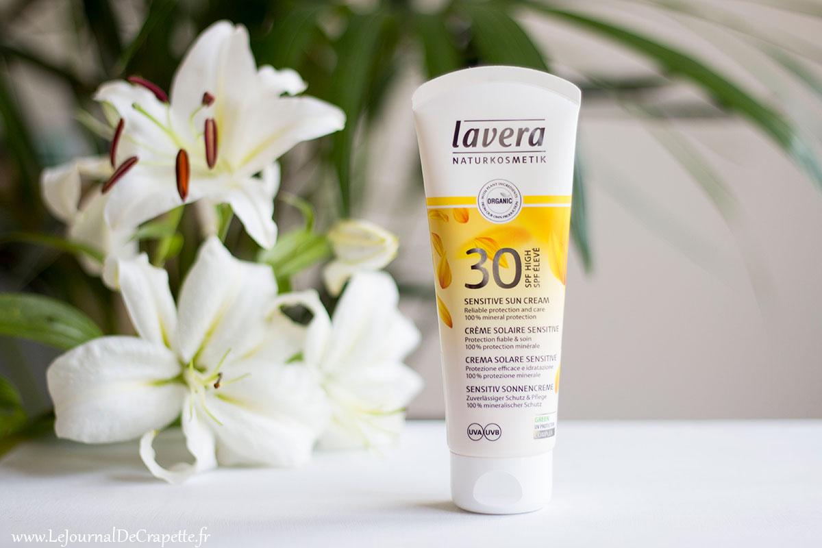 protection solaire naturelle Lavera