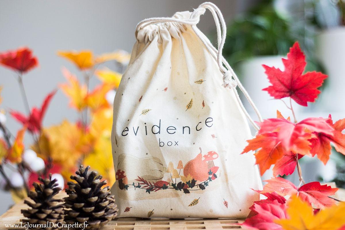 Box Evidence octobre 2019