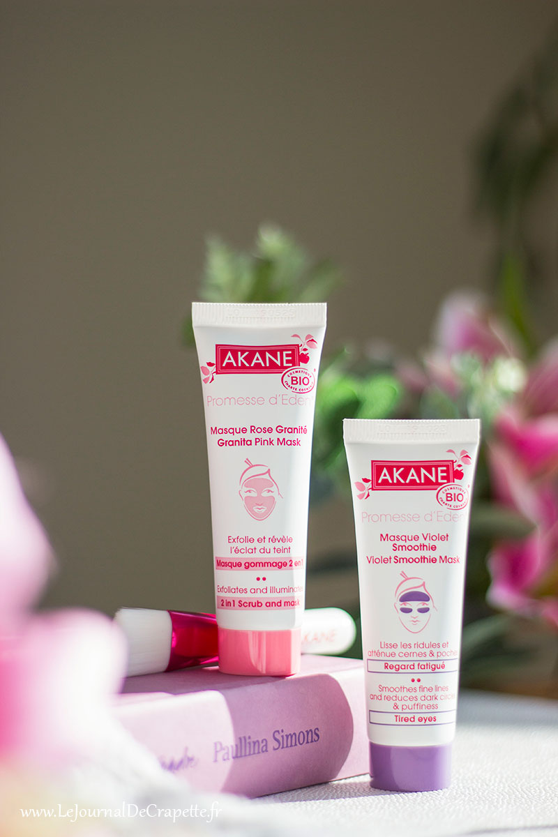 masque duo anti fatigue akane