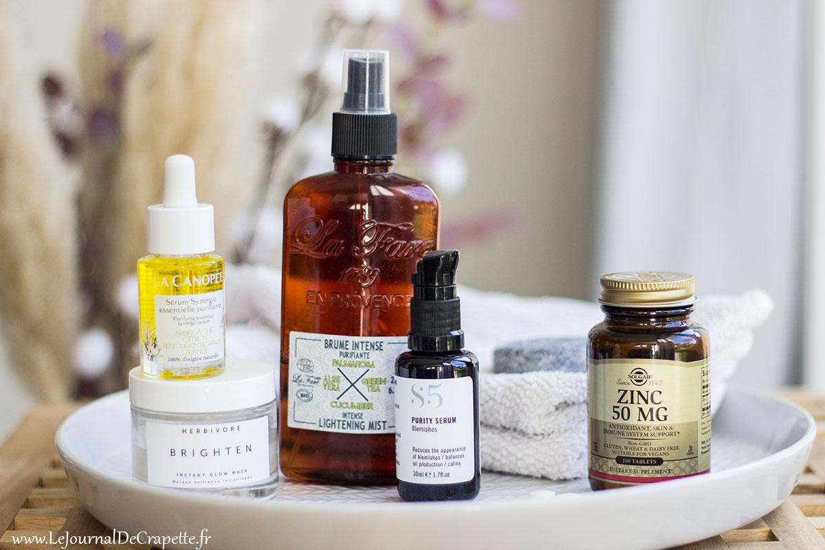 soins anti acne adulte