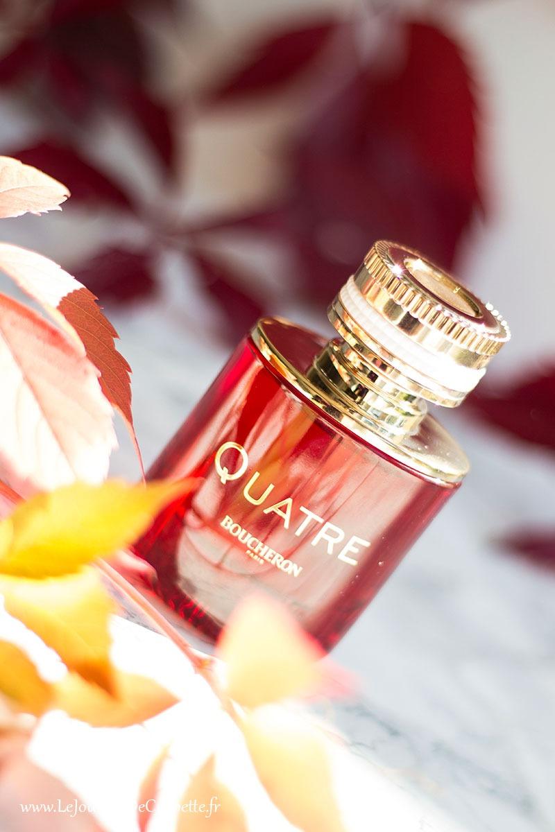 parfum quatre en rouge de Boucheron