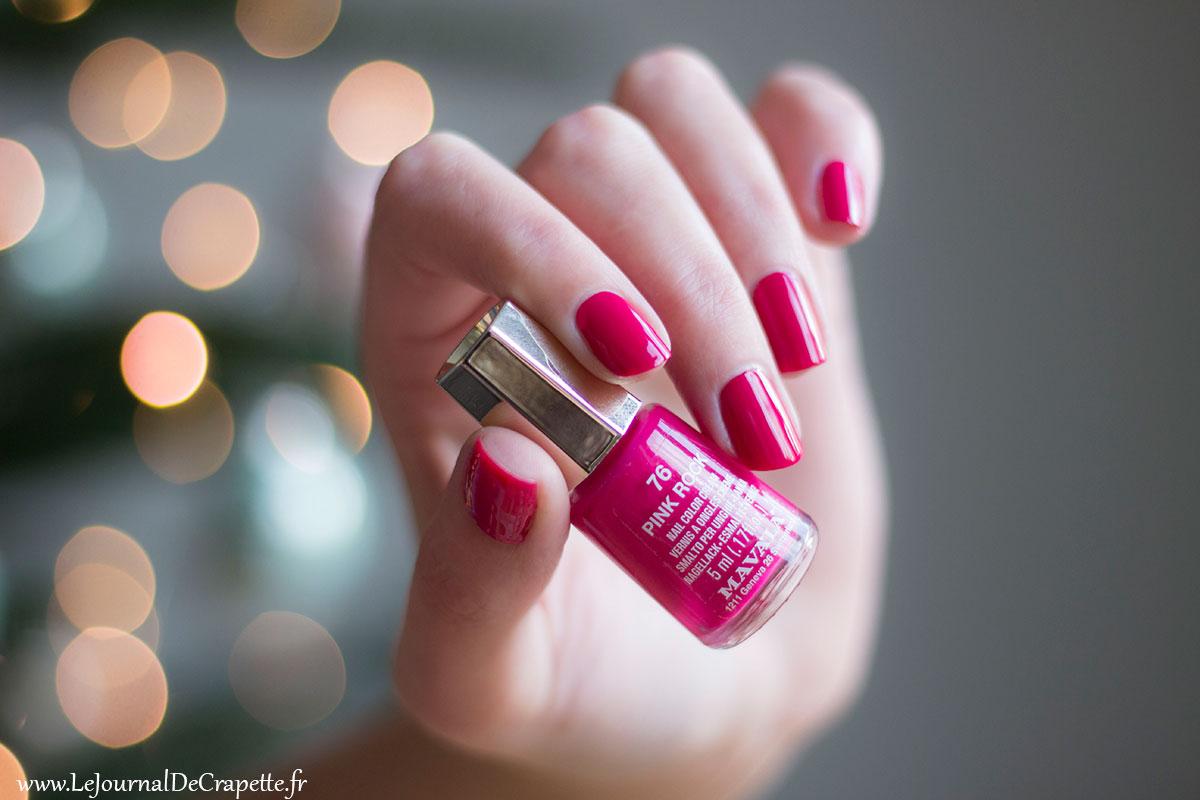 pink rock mavala vernis swatch