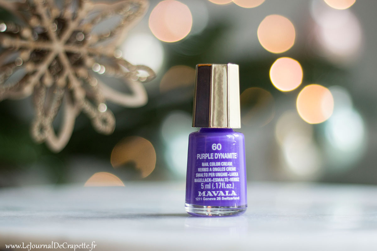 Mavala Vernis purple dynamite