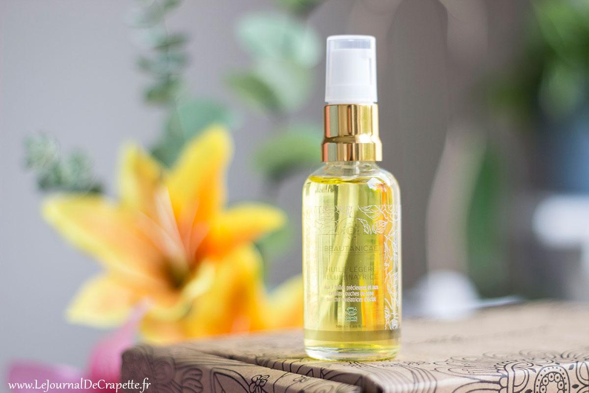 beautanicae huile legere illuminatrice