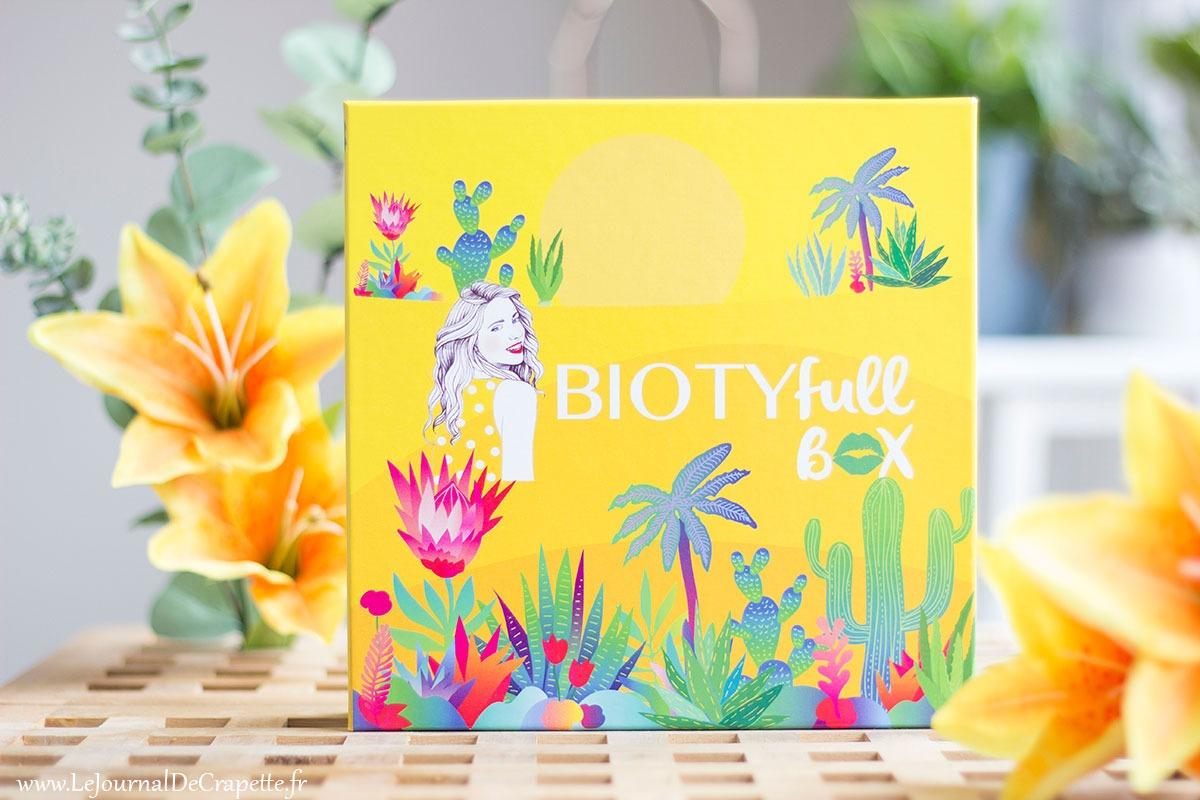 Biotyfull Box aout 2020 avis contenu