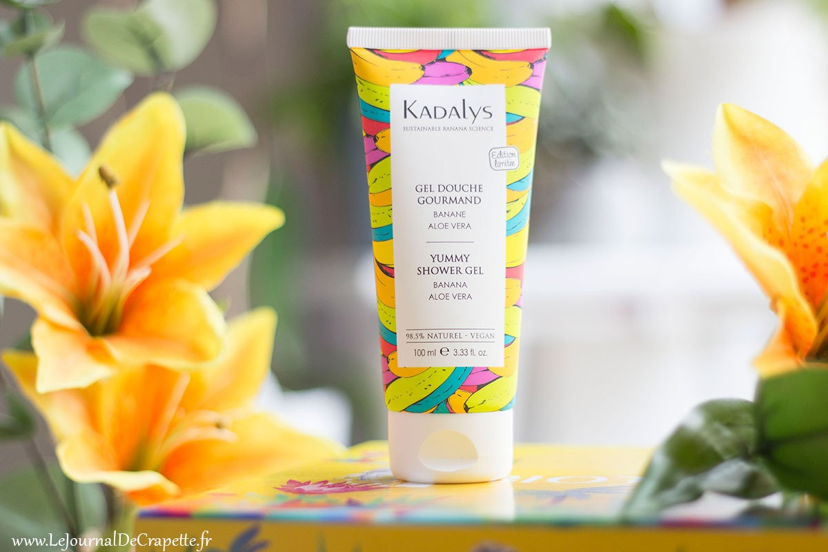 gel douche gourmand Kadalys