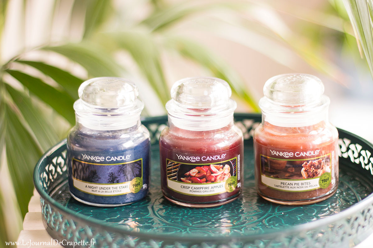 bougies yankee candle automne