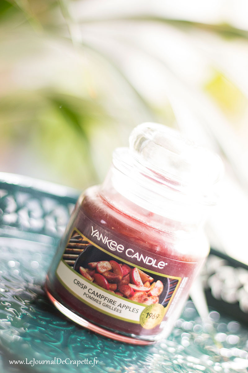 camfire apples bougie pommes grillées yankee candle
