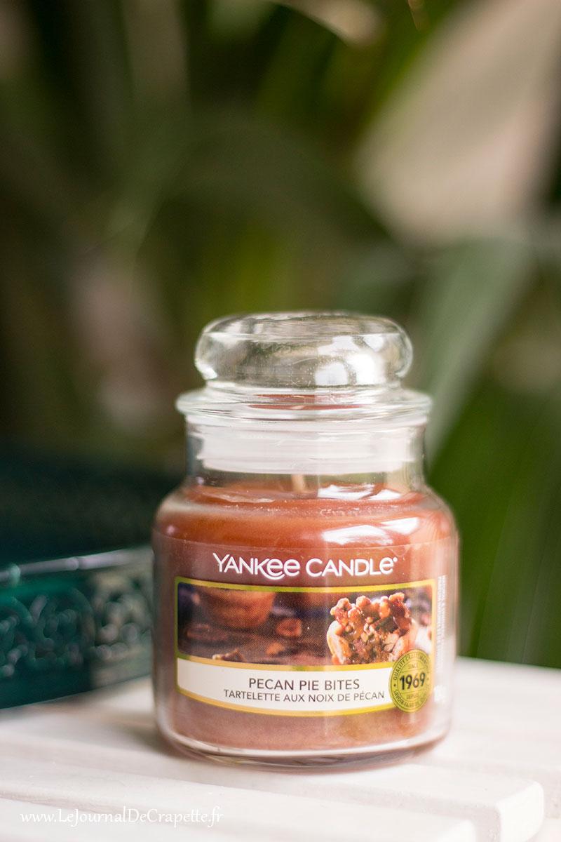 tartelette aux noix de pecan yaénkee candle