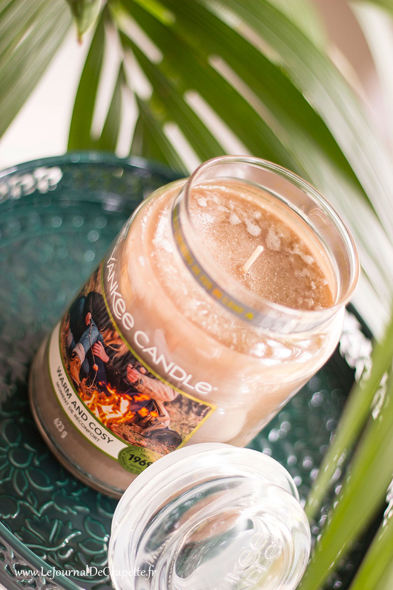 bougie yankee candle moments de reconforts