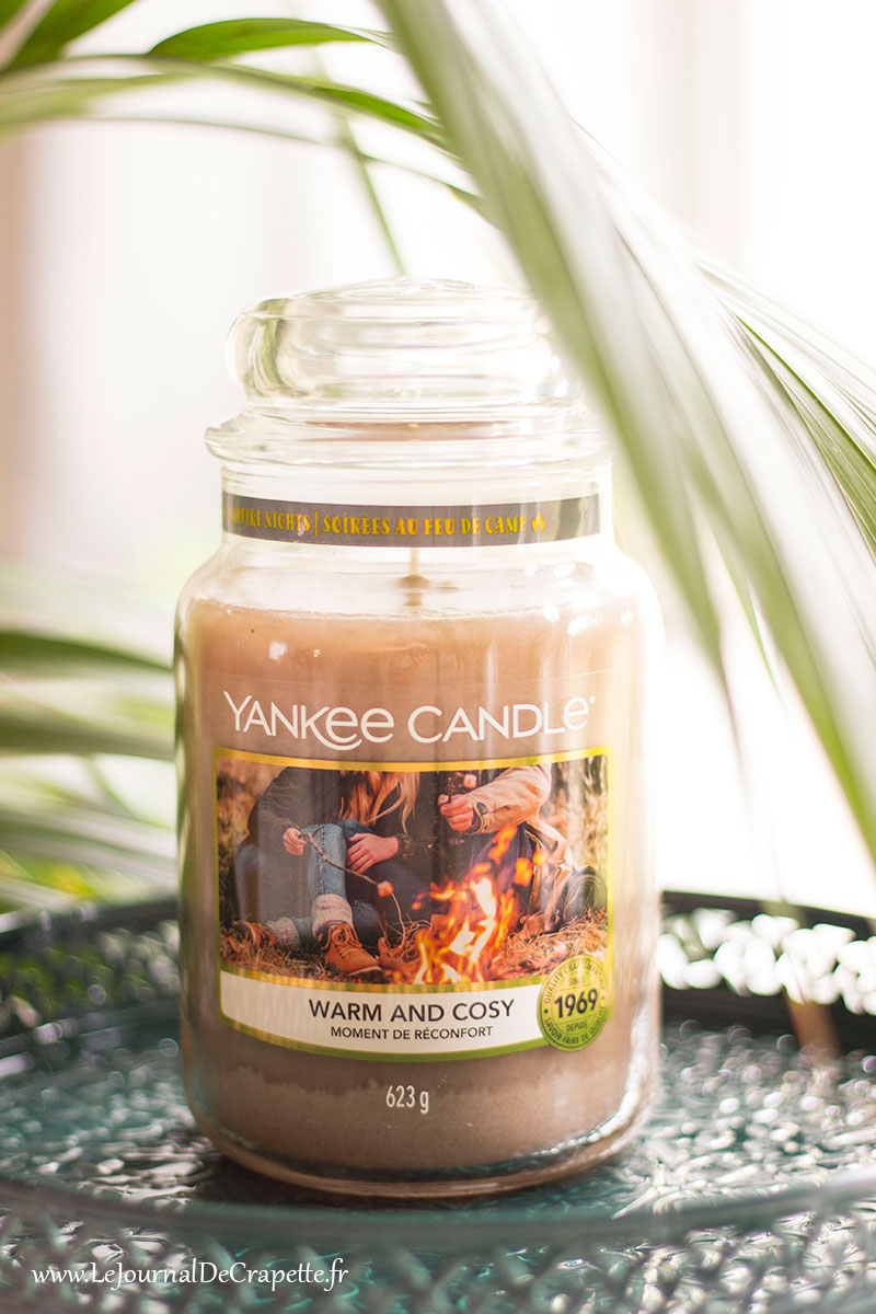 warm and cosy yankee candle