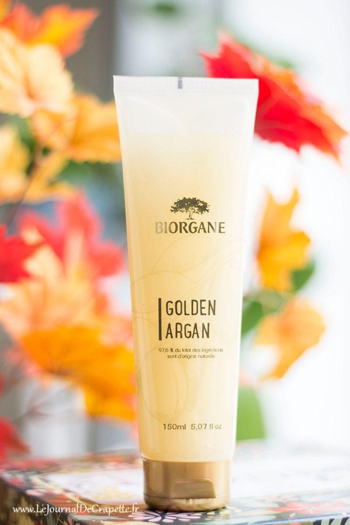 shampoing golden argan Biorgane