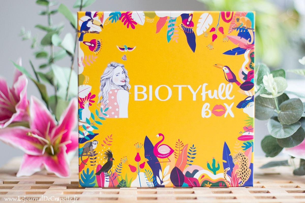 biotyfull box aout 2021